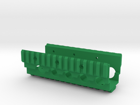 M249 Lower RAS RIS Handrail in Green Processed Versatile Plastic