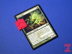 Magic: The Gathering +1/+1 Counter in Red Processed Versatile Plastic