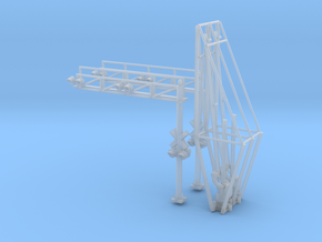N Scale Crossing Gates 2 Lanes 2x2 in Smooth Fine Detail Plastic