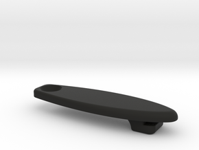 Cable Stop Port Cover in Black Natural Versatile Plastic