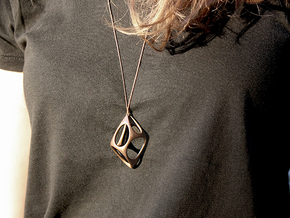 Cobble in Polished Bronze Steel