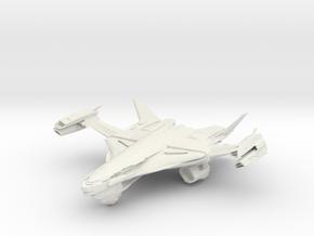 Casval Class HvyGunBattleCruiser in White Strong & Flexible