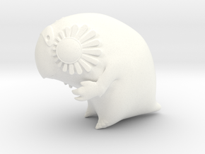 Large Kakapo (lux) in White Processed Versatile Plastic