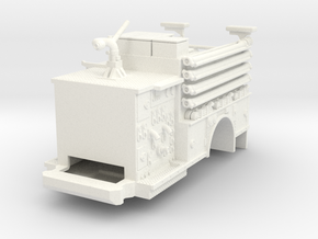 1/64 FDNY Pumper Body V1 in White Processed Versatile Plastic