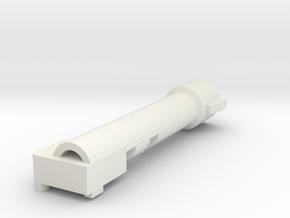 Combiner Wars Megatron shoulder cannon in White Natural Versatile Plastic