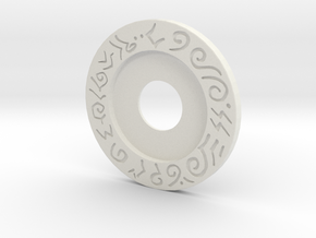 Mecha Glove - Scorpion box - Upper Ring in White Natural Versatile Plastic