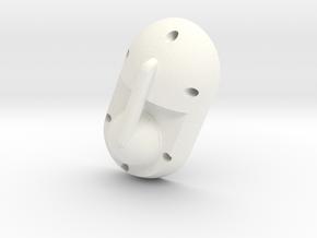 Mecha Glove - ScorpionBox - Lightbox Lid in White Processed Versatile Plastic