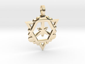 FLAME OF DESTINY in 14K Yellow Gold