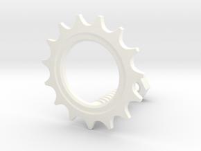 Fixedgear in White Processed Versatile Plastic