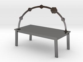 RAINBOW TABLE - BLOSSOM by rjw elsinga 1:12 in Polished Nickel Steel