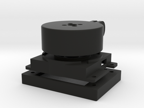 'all in one' Model 2014b - pegdownracing version in Black Natural Versatile Plastic