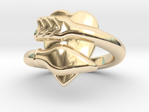 Cupido Ring 16 - Italian Size 16 in 14K Yellow Gold