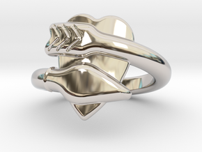 Cupido Ring 18 - Italian Size 18 in Platinum