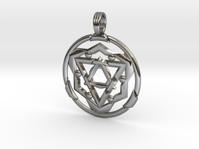TRANSCENDANT SPIRIT in Fine Detail Polished Silver
