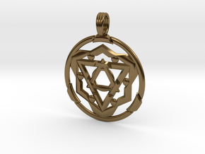 TRANSCENDANT SPIRIT in Polished Bronze