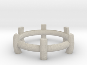 Tea light stand in Natural Sandstone