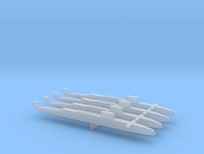 HMS Resolution SSBN x 4, 1/2400 in Smooth Fine Detail Plastic