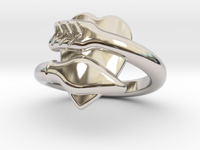 Cupido Ring 20 - Italian Size 20 in Platinum