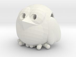 Flying Crumbz Pendant in White Natural Versatile Plastic