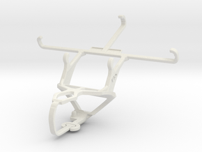 Controller mount for PS3 & BenQ F5 in White Natural Versatile Plastic