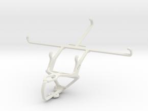 Controller mount for PS3 & BLU Studio 7.0 in White Natural Versatile Plastic
