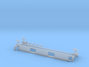 Monorail H Stand Turnout in Smooth Fine Detail Plastic: 1:24
