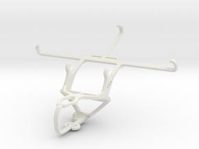 Controller mount for PS3 & Gigabyte GSmart Saga S3 in White Natural Versatile Plastic