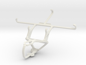 Controller mount for PS3 & HTC Desire 820 dual sim in White Natural Versatile Plastic