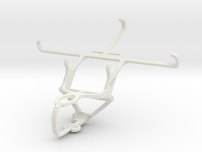 Controller mount for PS3 & LG G Stylo in White Natural Versatile Plastic