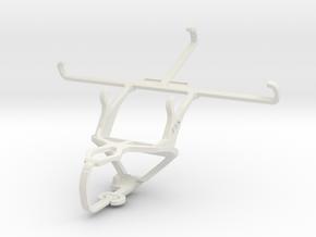 Controller mount for PS3 & LG G Vista (CDMA) in White Natural Versatile Plastic
