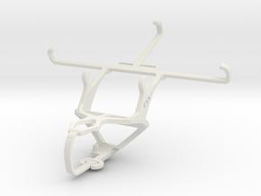 Controller mount for PS3 & LG G3 (CDMA) in White Natural Versatile Plastic