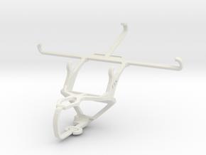 Controller mount for PS3 & Meizu PRO 5 in White Natural Versatile Plastic