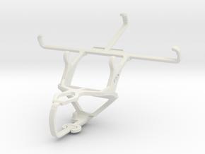 Controller mount for PS3 & Motorola Moto X (2nd Ge in White Natural Versatile Plastic