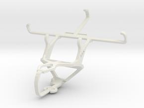 Controller mount for PS3 & NIU Niutek 4.5D in White Natural Versatile Plastic
