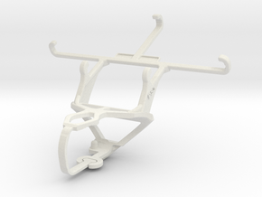 Controller mount for PS3 & Samsung Galaxy A3 in White Natural Versatile Plastic