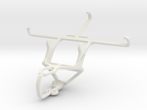 Controller mount for PS3 & Samsung Galaxy Grand 2 in White Natural Versatile Plastic