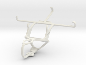 Controller mount for PS3 & Spice Stellar 520 (Mi-5 in White Natural Versatile Plastic