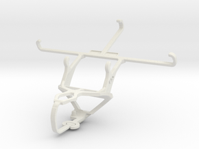 Controller mount for PS3 & Unnecto Air 5.5 in White Natural Versatile Plastic
