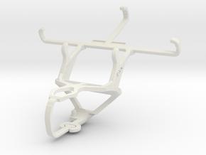 Controller mount for PS3 & Unnecto Quattro Z in White Natural Versatile Plastic
