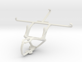 Controller mount for PS3 & vivo X5Max in White Natural Versatile Plastic
