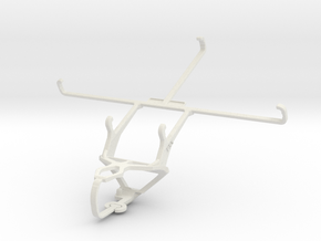 Controller mount for PS3 & Toshiba Excite 7c AT7-B in White Natural Versatile Plastic