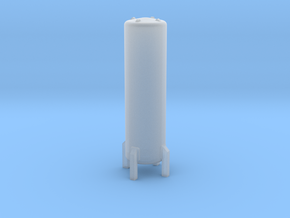 N Scale Cryogenic Tank 38mm in Smooth Fine Detail Plastic