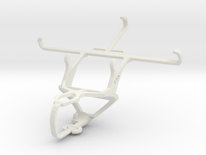 Controller mount for PS3 & XOLO Win Q1000 in White Natural Versatile Plastic