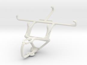 Controller mount for PS3 & ZTE Blade Vec 3G in White Natural Versatile Plastic