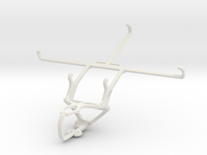 Controller mount for PS3 & Yezz Epic T7FD in White Natural Versatile Plastic