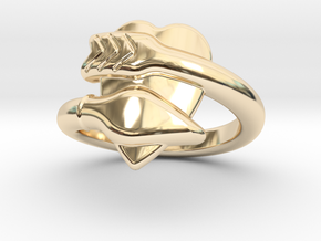 Cupido Ring 22 - Italian Size 22 in 14K Yellow Gold
