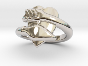 Cupido Ring 23 - Italian Size 23 in Platinum