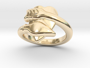 Cupido Ring 26 - Italian Size 26 in 14K Yellow Gold