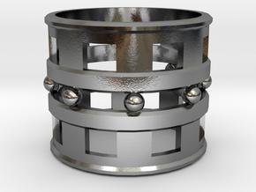 Trojan Women Ring [Size 10] in Polished Silver