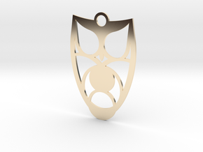 Owl #3 in 14k Gold Plated